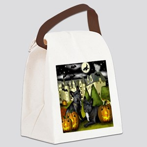 frbulldogcastlepump copy Canvas Lunch Bag