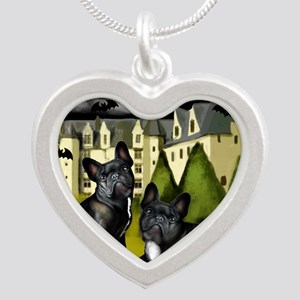 frbulldogcastlepump copy Silver Heart Necklace