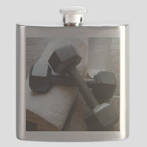 Fitness Gym Dumbells Flask