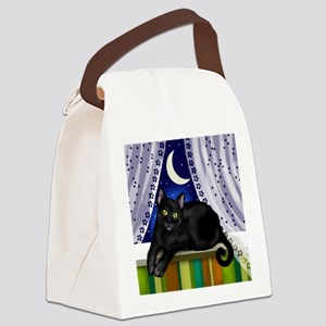 catwindow3 copy Canvas Lunch Bag