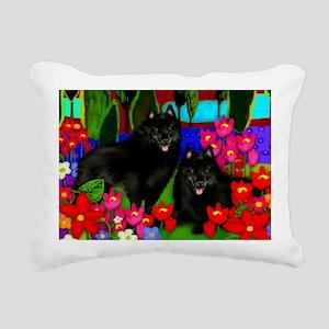 schipperke2print copy Rectangular Canvas Pillow