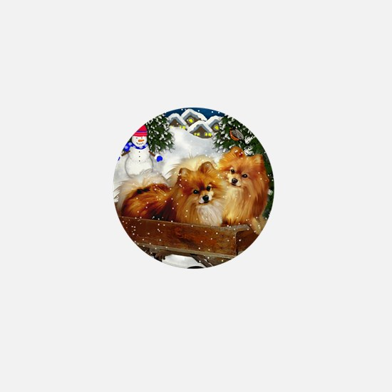 pomeranianvillagesn copy Mini Button
