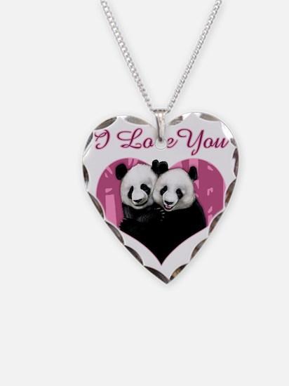 panda black Necklace