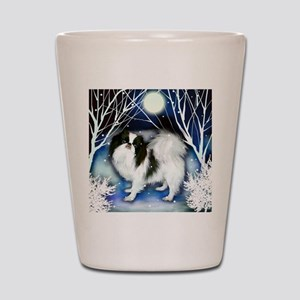 JC snown copy Shot Glass