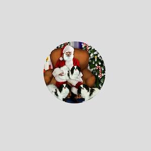 santa clous JC copy Mini Button