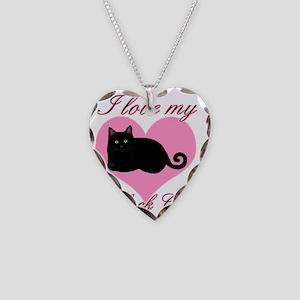 blackcatbl Necklace Heart Charm