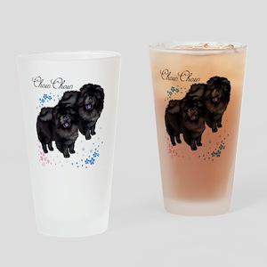 chowsflt copy Drinking Glass