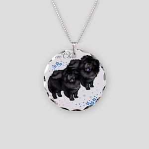 chowsflt copy Necklace Circle Charm
