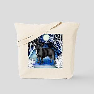 frbull snown copy Tote Bag