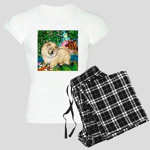 chowcream 4 copy Women's Light Pajamas