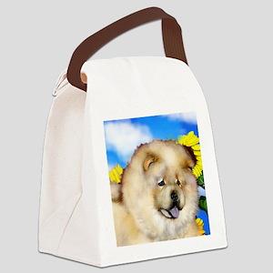 chowcream 3 copy Canvas Lunch Bag