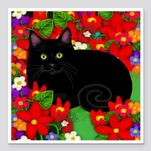 "catblgarden copy Square Car Magnet 3"" x 3"""
