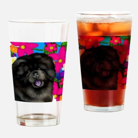 blchow flowers copy Drinking Glass
