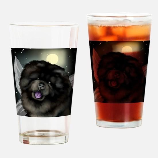 chowfairymoon copy Drinking Glass