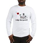 Love My St Bernard Long Sleeve T-Shirt