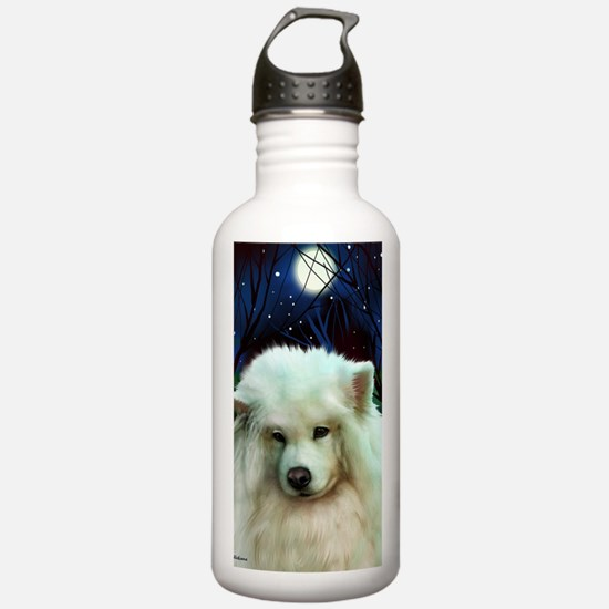 Samoyed print 2 Water Bottle