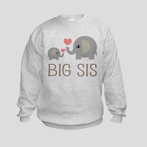 Lil Big Sis Kids Sweatshirt