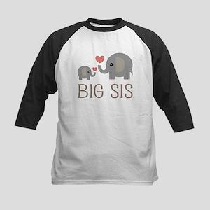 Lil Big Sis Kids Baseball Jersey