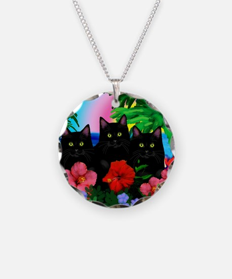 beachparadise bl cats Necklace