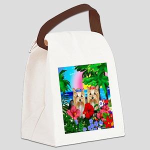 beachparadise yourkie Canvas Lunch Bag