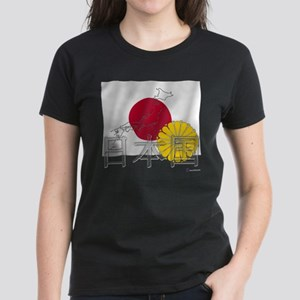 Flag of Nihon Koku / JP Women's Dark T-Shirt
