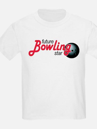 Future Bowling Star Kids T-Shirt