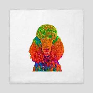 Psychadelic Poodle Queen Duvet