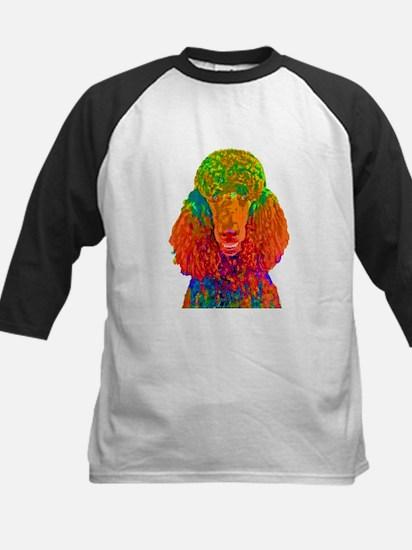 Psychadelic Poodle Baseball Jersey