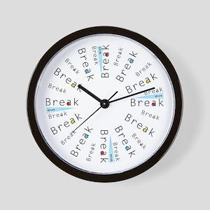 It's Break Time!  Clock