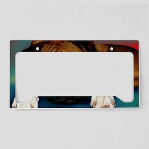 print 10 License Plate Holder