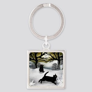 WS BCATS Square Keychain