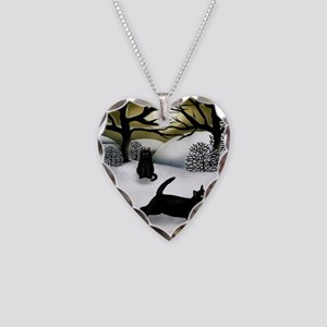 WS BCATS Necklace Heart Charm