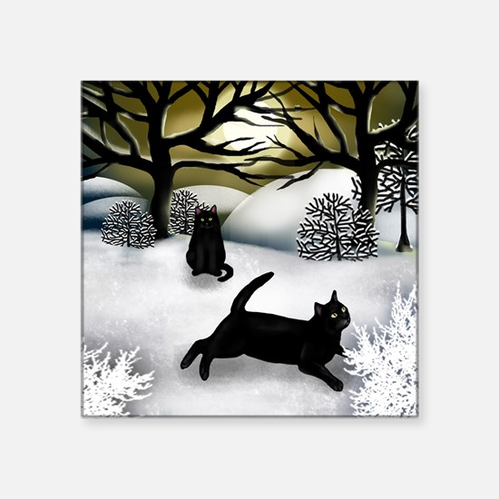 """WS BCATS Square Sticker 3"""" x 3"""""""