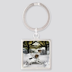 WS JRT Square Keychain