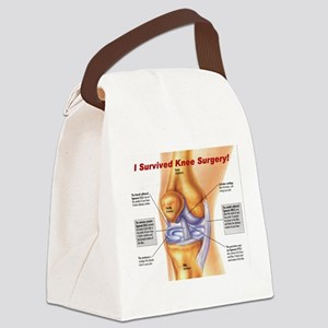kneetee3 Canvas Lunch Bag