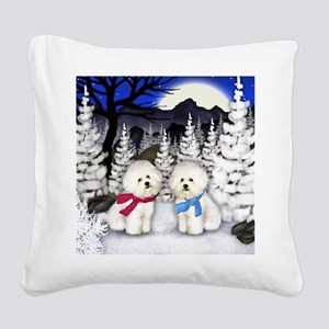 WN BF Square Canvas Pillow
