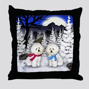 WN BF Throw Pillow