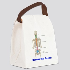 Back surgery Canvas Lunch Bag