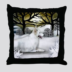 WS WGS Throw Pillow