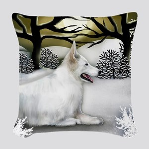 WS WGS Woven Throw Pillow