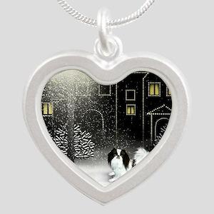 WC JC copy Silver Heart Necklace