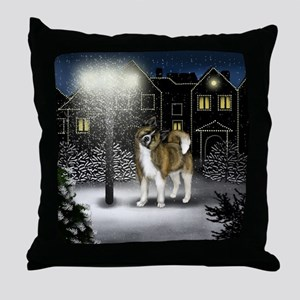 WC BA copy Throw Pillow