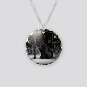 WC NEWF copy Necklace Circle Charm
