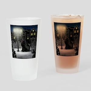 WC NEWF copy Drinking Glass