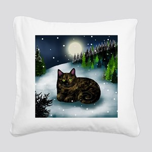 WM tcat Square Canvas Pillow