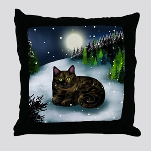 WM tcat Throw Pillow