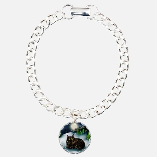 WM tcat Charm Bracelet, One Charm