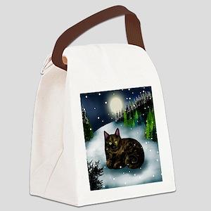 WM tcat Canvas Lunch Bag