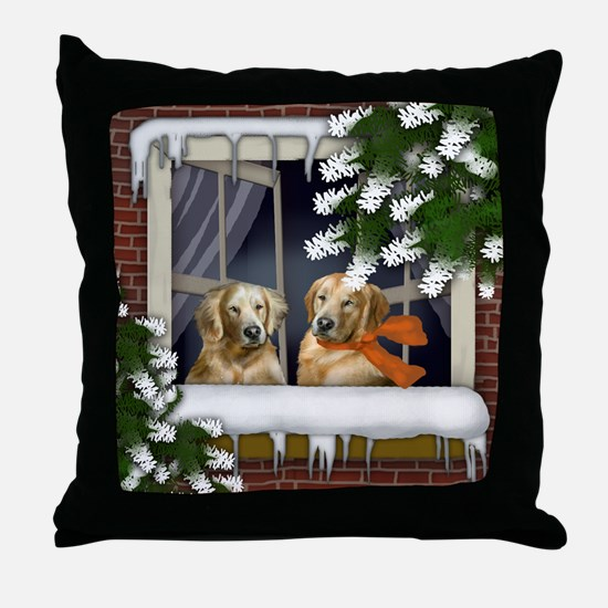 ww gr copy Throw Pillow