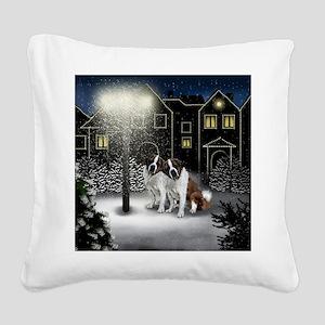 SC SB Square Canvas Pillow